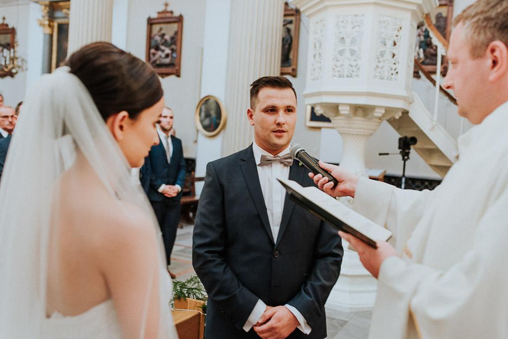 wesele sesja nad morzem przysięga pana młodego