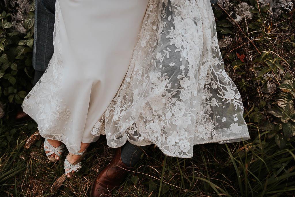 suknia ślubna maja florkiewicz sesja w górach piotr czyżewski