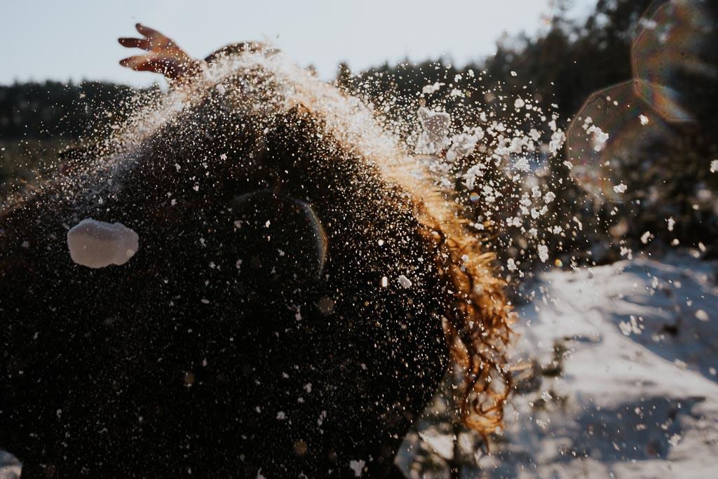 śnieg na lokach fotograf Legionowo Piotr Czyżewski
